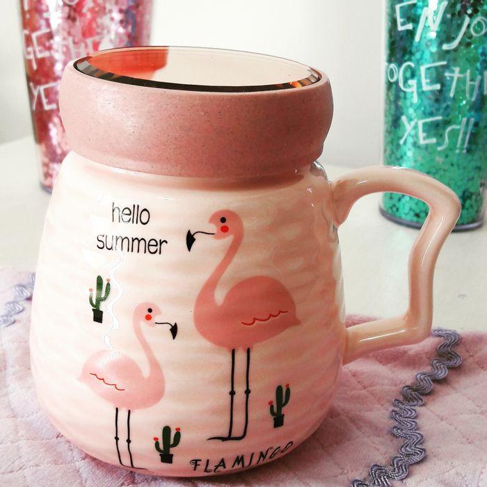 Caneca-Flamingo